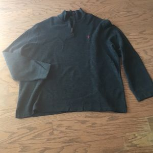 Polo Ralph Lauren 1/4 zip sweater worn once xxl